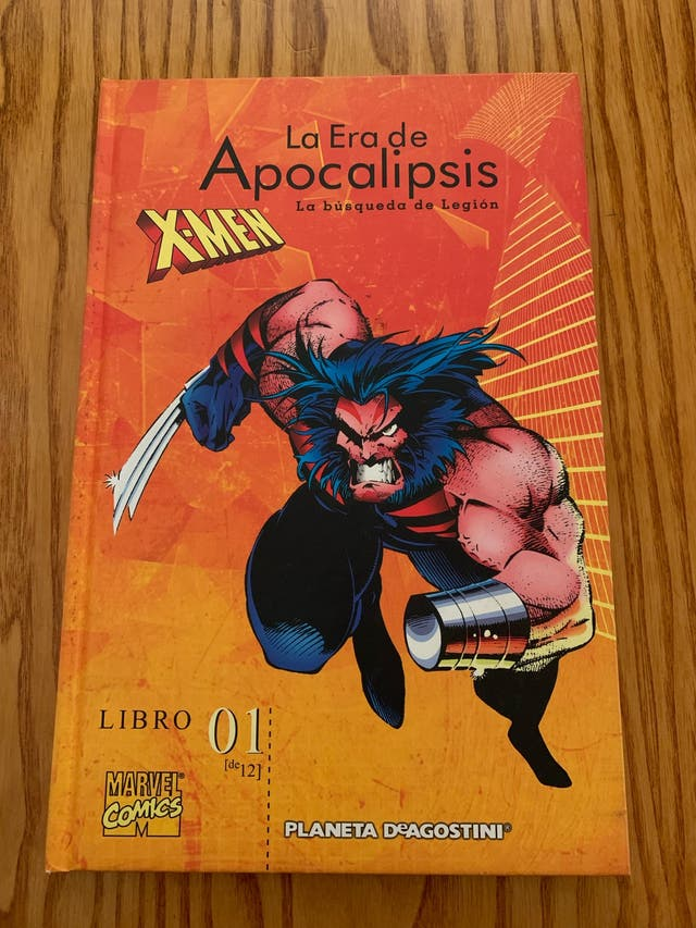 Cómic la era de Apocalipsis x-men 01 tapas duras