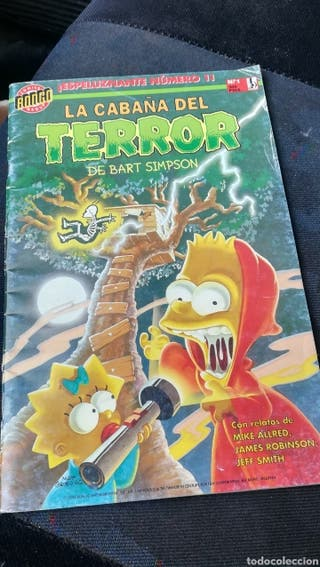 comic de Bart Simpson