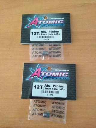 Se venden piñones aluminio 12t y 13t para mini z.