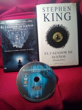 STEPHEN KING:El cazador de sueños.DVD+LIBRO:4,25€