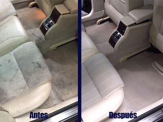 Limpieza de tapicerías coche