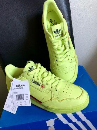 Adidas Continental 80 Frozen Yellow Nuevas