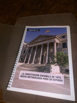 Constitución Española de 1978 libro de estudio