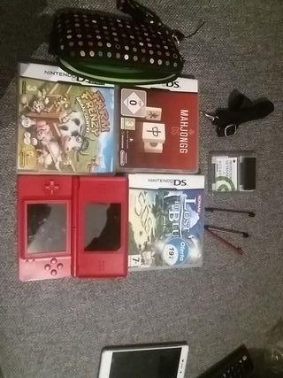 Nintendo DS + 3 juegos