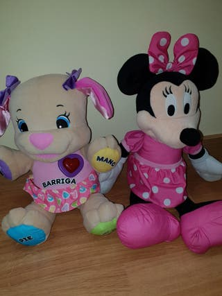 Peluches infantiles musicales