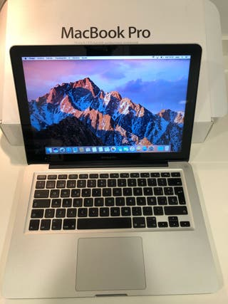 MacBook Pro modelo 2011 con disco duro SSD