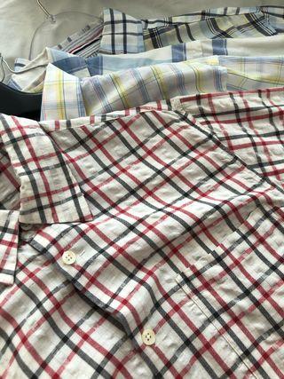 Camisas caballero. Pack 4 unidades