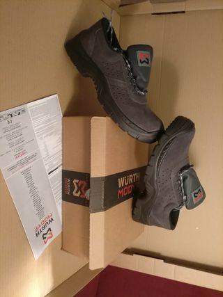 Zapatos de seguridad n°45 Wurth.