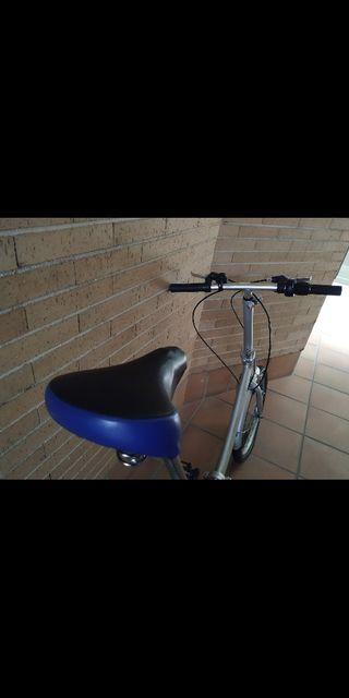 bicicleta plegable folding street 8 aluminium