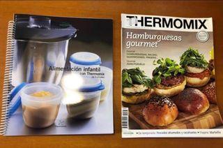 Lote libro y revista Thermomix