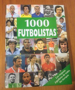 "libro. futbol ""1000 futbolistas""."