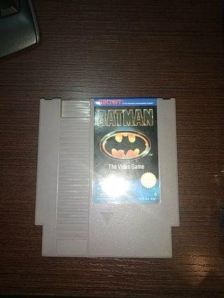 juego NES Batman.