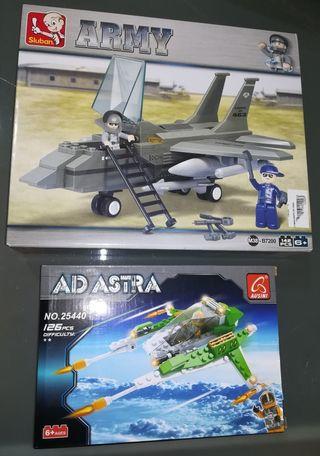 Dos juegos construccion tipo LEGO