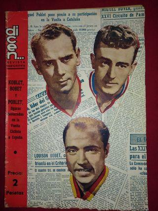 revista deportiva dicen