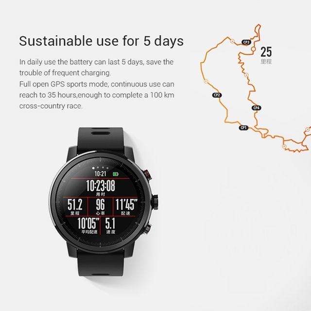 Reloj inteligente Xiaomi Huami Amazfit Stratos 2