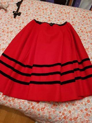 falda asturiana