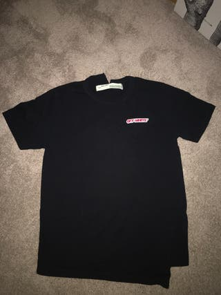 Camiseta off white temperature