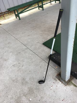 Palo de golf Híbrido 4 Taylor Made M1+funda