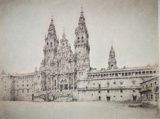 Cuadro grabado Catedral de Santiago de Compostela