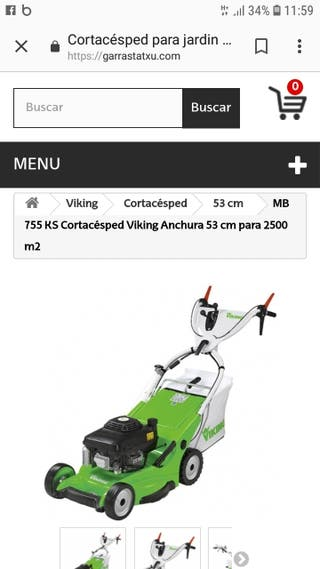 cortacesped viking 755 ks