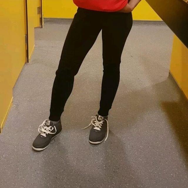 Womens Black Jogging Bottoms Lounge Wear Size 6