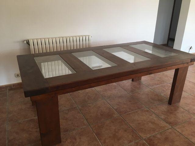 Mesa de comedor grande de segunda mano por 80 € en Pollença en WALLAPOP