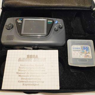 Sega Game Gear + Sonic