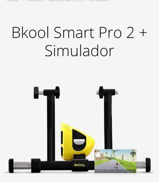 Bkool SmartPro 2+ simulador