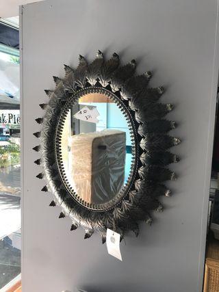 Espejo metalico