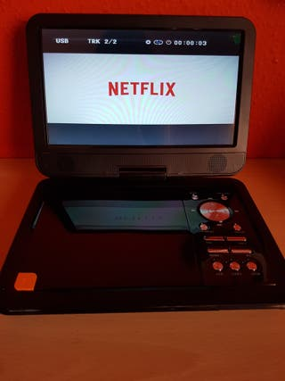 """Reproductor de DVD portátil 10.5"""" NUEVO"""