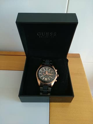 Por Guess En GamaDe Reloj Collection Segunda Rosa Oro Mano Alta v0nO8mNw