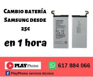 Reparación Samsung-cambio batería