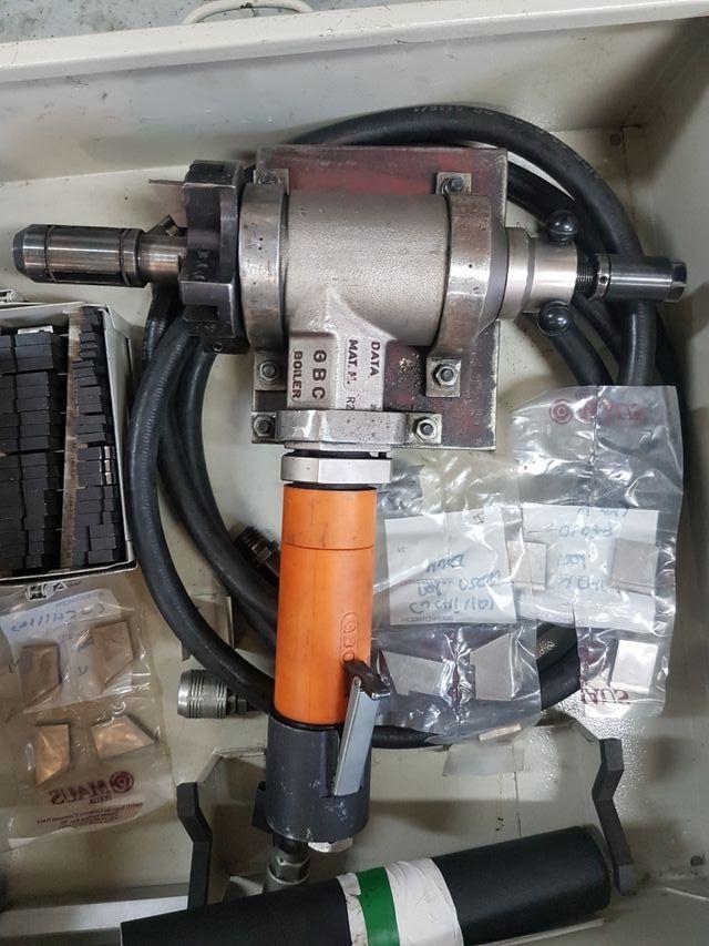 Biseladora GBC Boiler std. Cortadora de tubos