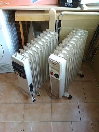Radiadores eléctricos de aceite