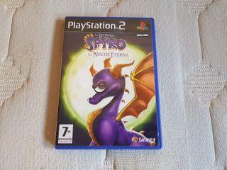 Spyro La Noche Eterna PS2