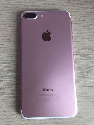 2 IPHONE 7 plus 32Gb dorado y plus rosa 128