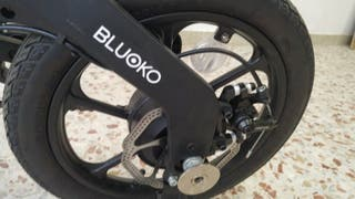 bicicleta eléctrica bluoko nueva