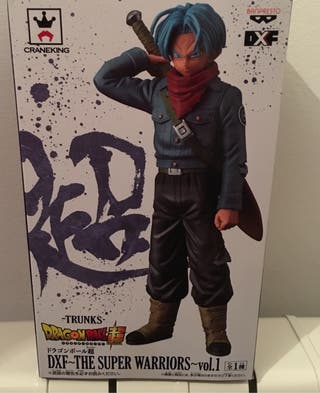 Figura Trunks DXF Banpresto The super warriors