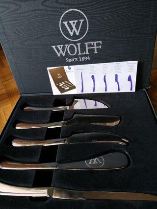 **NUEVO** a estrenar! Set cuchillos de queso