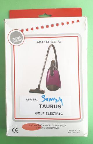 Bolsas aspirador Taurus Golf Electric