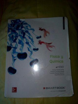 libro física y química cuarto de la eso