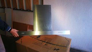Campana extractora 90 cm,