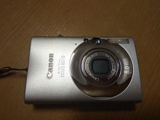 Camara de fotos canon ixus 8015