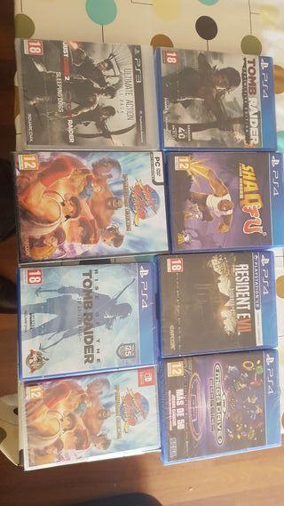 vidio juegos varios ps3 ps4 pc Nintendo switch