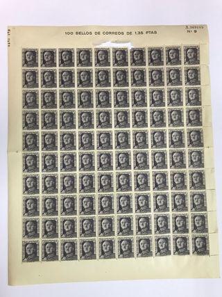 100 Sellos correos de FRANCO