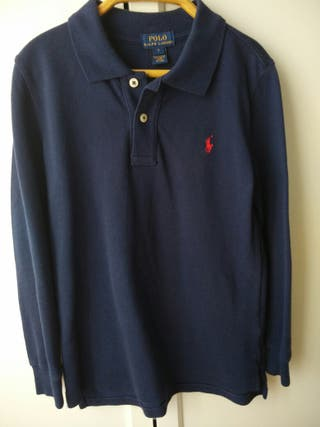 Polo Ralph Lauren azul. Original