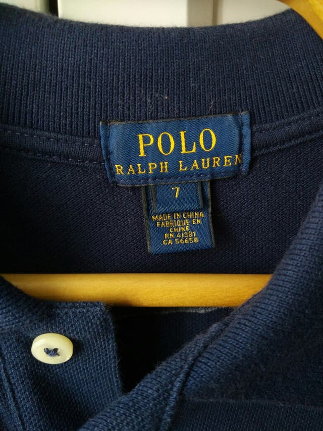 Polo Ralph Lauren azul. Original