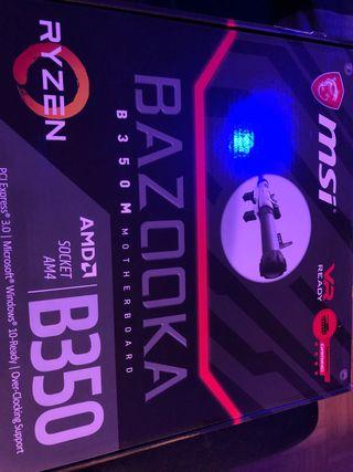 Placa Base MSi Bazooka B350M
