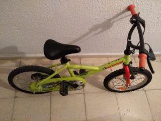 bicicleta de 14' Decathlon