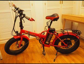 Bicicleta Electrica Tucano Monster 500w fat